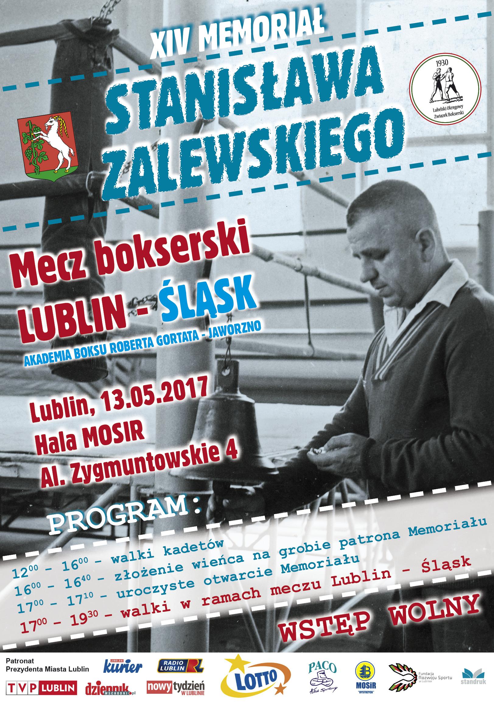 Plakat boks - 09 - memoriał im. zalewskiego 08.05.2017
